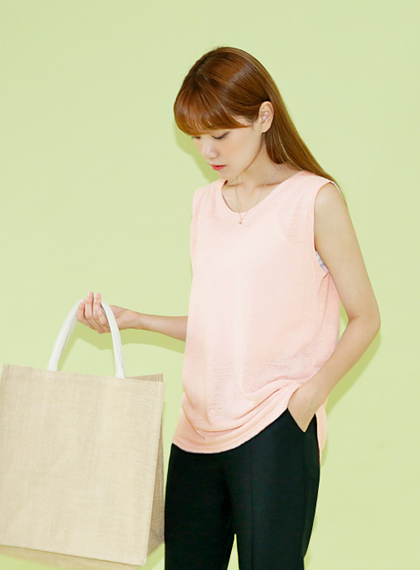 Linen Single Sleeveless | 럽미