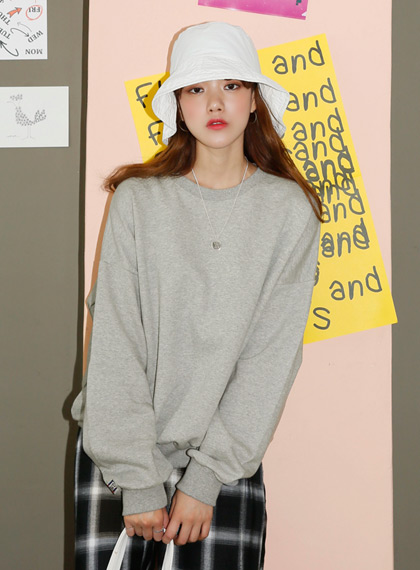 Basic Logo Sweat Shirts | 럽미