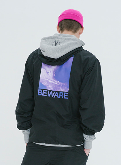 TRAVEL ANORAK_BLACK