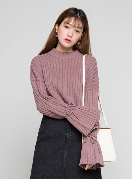 Ribbon String Knit | 럽미