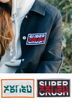 LUVX super crush wappen