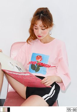 Fresh Rose T-shirt