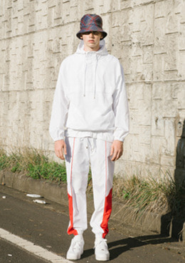 TRAVEL POLY PANTS_WHITE | 럽미