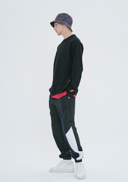 TRAVEL POLY PANTS_BLACK | 럽미