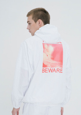 TRAVEL ANORAK_WHITE | 럽미