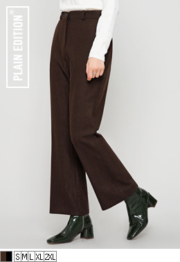 Wool Bootcut Slacks(울60%) | 럽미