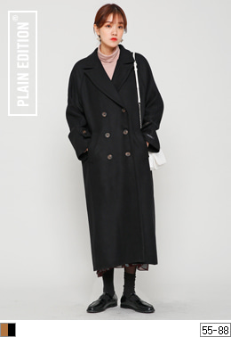 Raglan Long Coat(울50%)